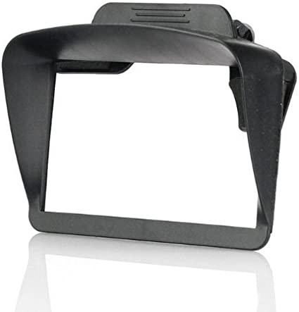 Das Gut Gps Sunshade Sonnenblende Sonnenschutz Für 4 3 5 Zoll Navi Navigationsgerät Auto