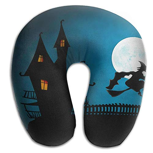 SINOVAL Halloween Helloween Super U Type Pillow Neck Pillow Outdoor Travel Pillow Relief Neck Pain -