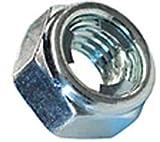 5 M10-1.25 FUJI Style Hexagon Lock Nut Steel Zinc DIN 980M