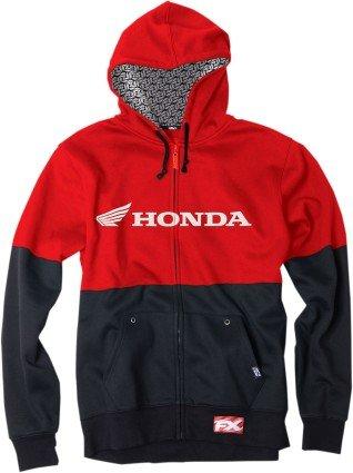 factory-effex-honda-double-hooded-zip-up-sweatshirt-black-red-large