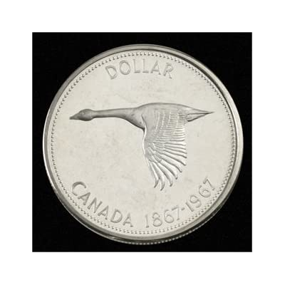 Canada 1967 Centennial Ounce Silver Dollar Goose Coins Royal Canada Mint: Everything Else [5Bkhe1101496]
