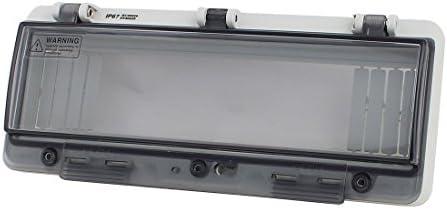 WXQ-XQ サーキットブレーカー用プラスチック防水クリア12位置分布ボックススイッチカバー 遮断器