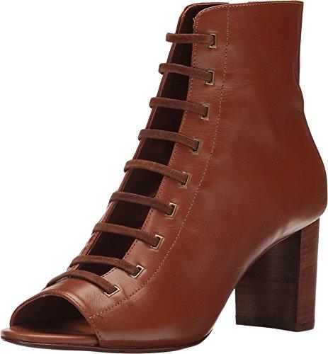 Aquatalia Women's Stefania Calf/Suede Ankle Boot - Cognac...