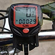 Tinffy Multi-Function Bicycle Mountain Bike Code Table Riding Speedometer and Odometer Cycle Computers