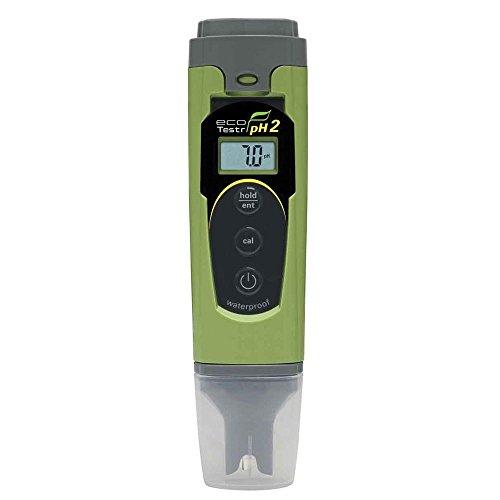 Oakton EcoTestr pH 2 Waterproof pH Tester, 0.0 to 14.0 pH Range