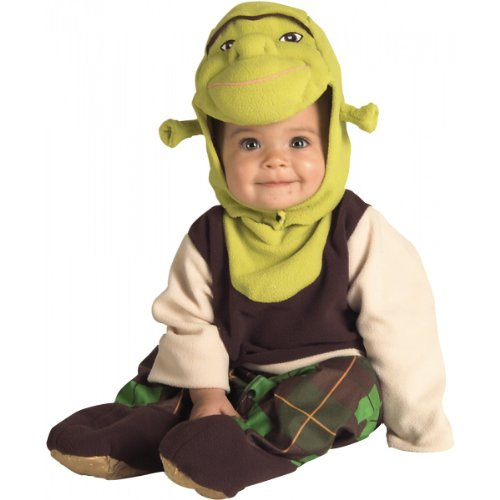 Shrek Costume - Newborn -