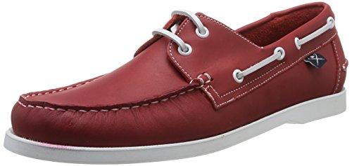 Hackett London Classic Dockside, Calzado casual Hombre Rojo