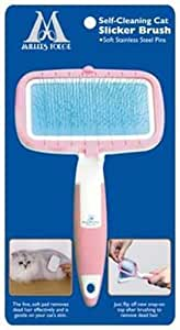 Millers Forge Self Cleaning Soft Slicker Brush, Small