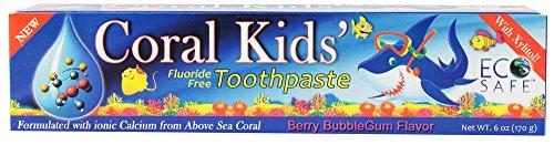 Coral Kids зубная паста Берри Bubblegum Вкус 6 унций.