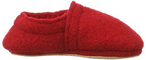 NangaLea - pantuflas Bebé-Niños Rojo - rojo (rojo 20)