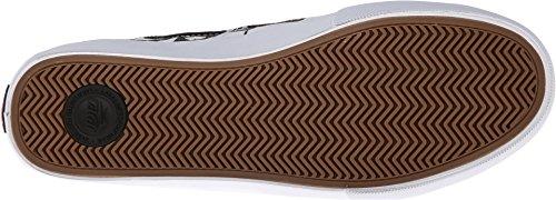 Lakai - Zapatillas de skateboarding de Lona para hombre multicolor Negro y blanco