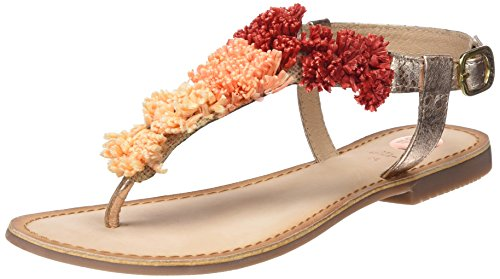 Gioseppo Women's 44125 Open Toe Sandals Gold (Cobre) LI0Iimrenr