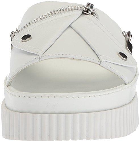 Kendall & Kylie Women's Icon Slide Sandal White NIS95trD