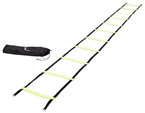 Cintz Fixed Rungs Speed Agility Ladder, 15-Feet