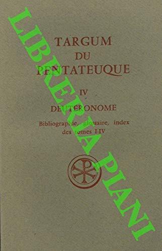 Targum du pentateuque. Traduction des deux