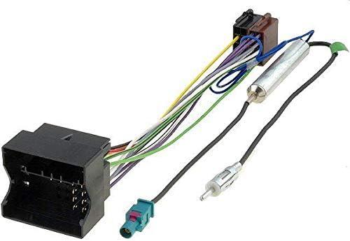 Conector ISO para radio de coche Citroen C2 C3 C4 C5 ...