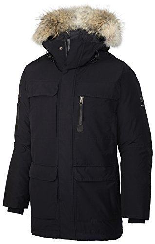 Columbia Black Parka - 9