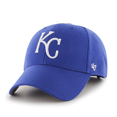 '47 MLB Kansas City Royals MVP Adjustable Hat, One Size (Royals City Kansas Hats)