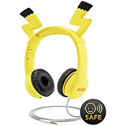 77519ce7d95 Kids Headphones with VoliBolt Ears, Mumba Wired Over-Ear Headphones with  Music Sharing Function