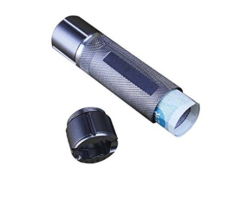 Flashlight With Cash Stash   Multi Use Flashlight