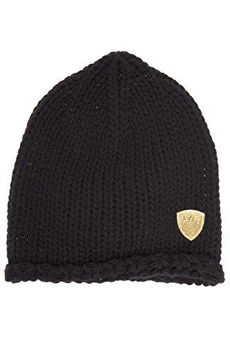 Emporio Armani EA7 women's beanie hat mount urban black US size S 285396 6A735 00020 by Emporio Armani