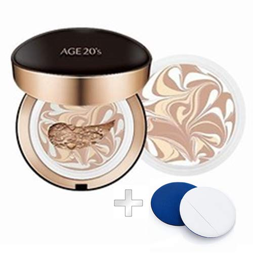 AGE 20  S SIGNATURE ESSENCE COVER PACT INTENSE COVER + REFILL +AIR PUFF SPF50+ / PA++++