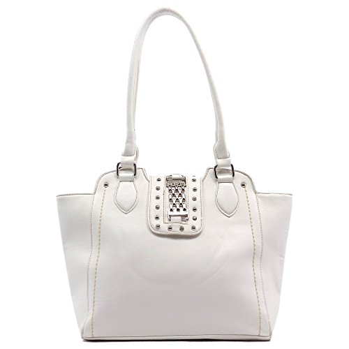 Rodeo No. 190 Oversize Shopper Tote (White)