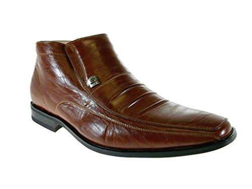 High Aldo Ankle 606299 Distressed Brown Boots Mens Delli Dress w4AXSqx