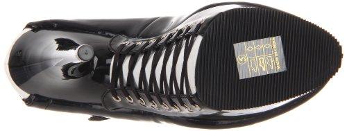 Zapatos wht Pat Pleaserdelight Mujer Cordones 687fh De blk Blk qxBvwCU65v