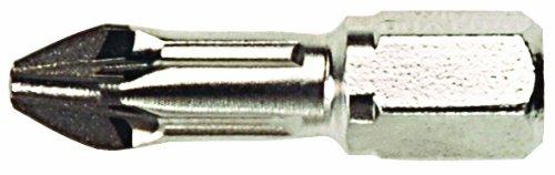Wiha 71221 #1 x 25mm PoziDriv Diamond Insert Bit