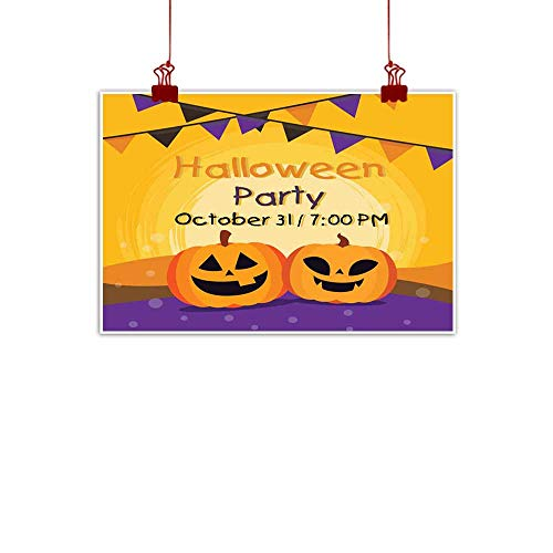 duommhome Abstract Painting Halloween Banner Abstract Painting 47