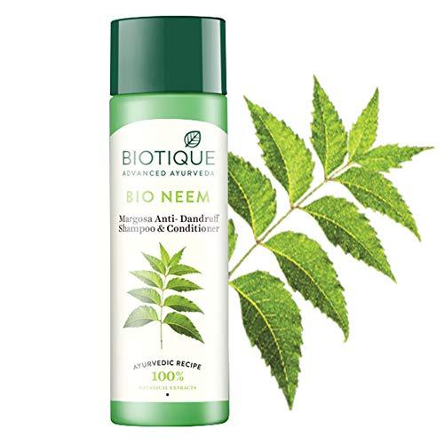 Biotique Bio Margosa Anti Dandruff Shampoo 190 Ml Amazon In Beauty