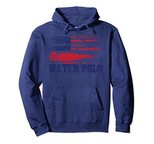 Water Polo Hoodie | Cute Team Aquatic Sport Hood USA Gift