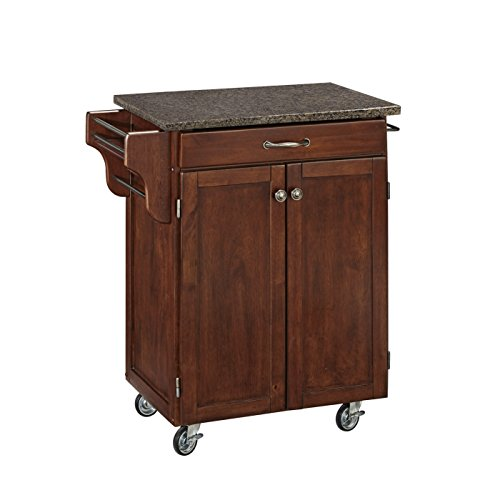 Home Styles 9001-0708 Cuisine Cart, Rustic Cherry Finish