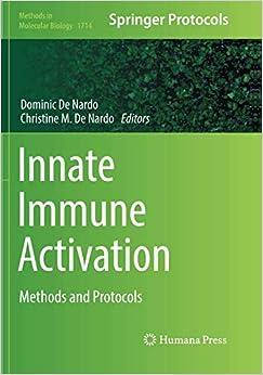 Descargar Ebooks Torrent Innate Immune Activation: Methods And Protocols Pagina Epub