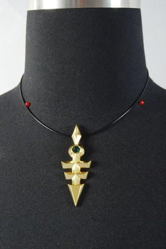 Yu-Gi-Oh Zexal Yuma Tsukumo Ou no Kagi Emperor/'s Key Cosplay Necklace Pendant