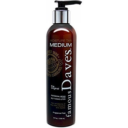 Dave S Self Tanner Lotion Moisture Tan With Included Tricks Tips