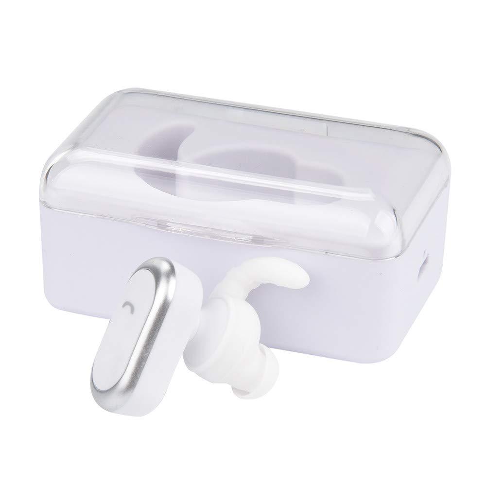 Hahashop2 - Auriculares inalámbricos Bluetooth con micrófono ...