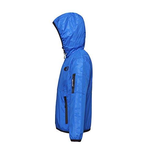 Rokka&Rolla Boys' Lightweight Water Resistant Zip-Up Hooded Windbreaker Jacket by Rokka&Rolla (Image #2)
