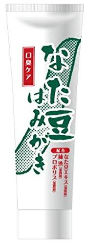 なた豆はみがき 120g なた豆エキス柿渋プロポリス茶葉エキス配合 (12個) B00SPVS0VM   12個