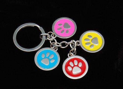 Four Paw Keychain, My Pet Supplies