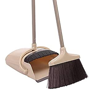 Amazon Com Handle Dustpan And Broom Set Standing Upright