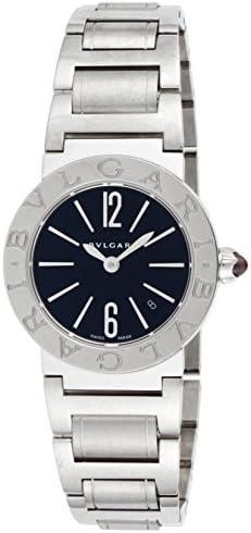 [ブルガリ] 腕時計 ブルガリブルガリ ブラック文字盤 BBL26BSSD 並行輸入品 シルバー