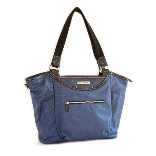 Clark & Mayfield Bellevue Laptop Handbag 18.4'' (Navy Blue) by Clark & Mayfield