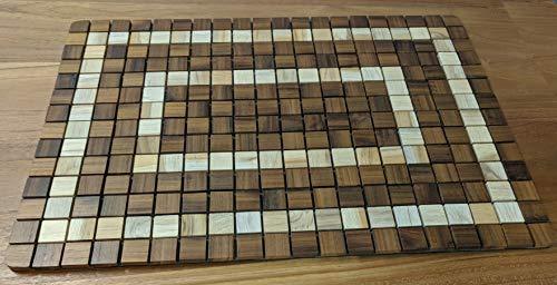 OnlineTeakFurniture 23.5'' Brazilian Plantation Teak Floor Mat for Bathroom, Kitchen, Spa, Outdoor Pool, Sauna by OnlineTeakFurniture