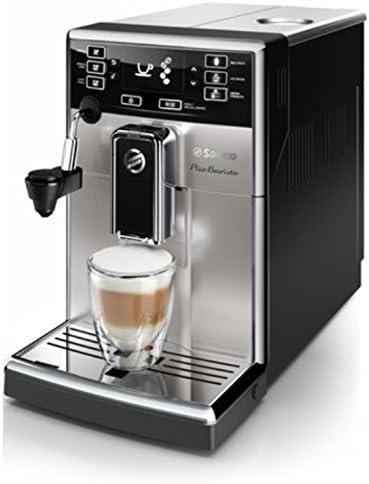 Saeco PicoBaristo - Cafetera espresso automática, con espumador de ...