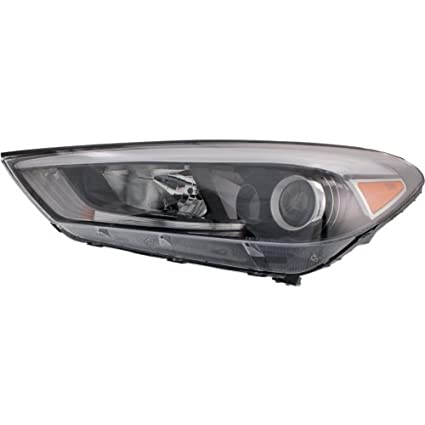 Amazon com: Headlight for HYUNDAI TUCSON 2016-2018 LH