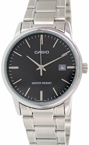 Casio MTP V002D 1A Standard Analog Stainless