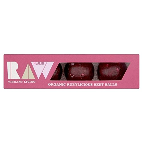 Raw Health Organic Rubylicious Beet Balls 60g - Pack of 6 by Biona