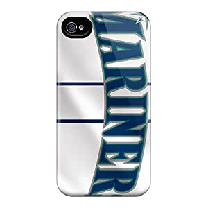 New Arrival Iphone 4/4s Case Seattle Mariners Case Cover